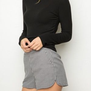 Brandy Melville Rumi Gingham Shorts
